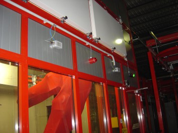 FIRE PROTECTION OF PAINTING BOOTHS