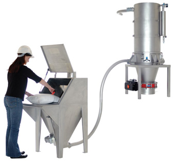 PNEUMATIC CONVEYING SYSTEM - VACUUM