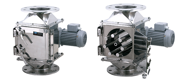 ROTARY GATE MAGNETIC SEPARATOR